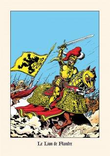 Ex-Libris Lion de Flandre
